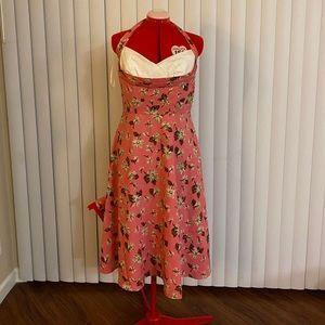 Stop staring daisy halter dress
